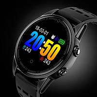 UWatch Умные часы Smart R13 5050 UWatch Black водостойкие, фото 1