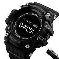 Skmei Умные часы Smart Skmei Power Smart+ 1188 Black с пульсометром, фото 1