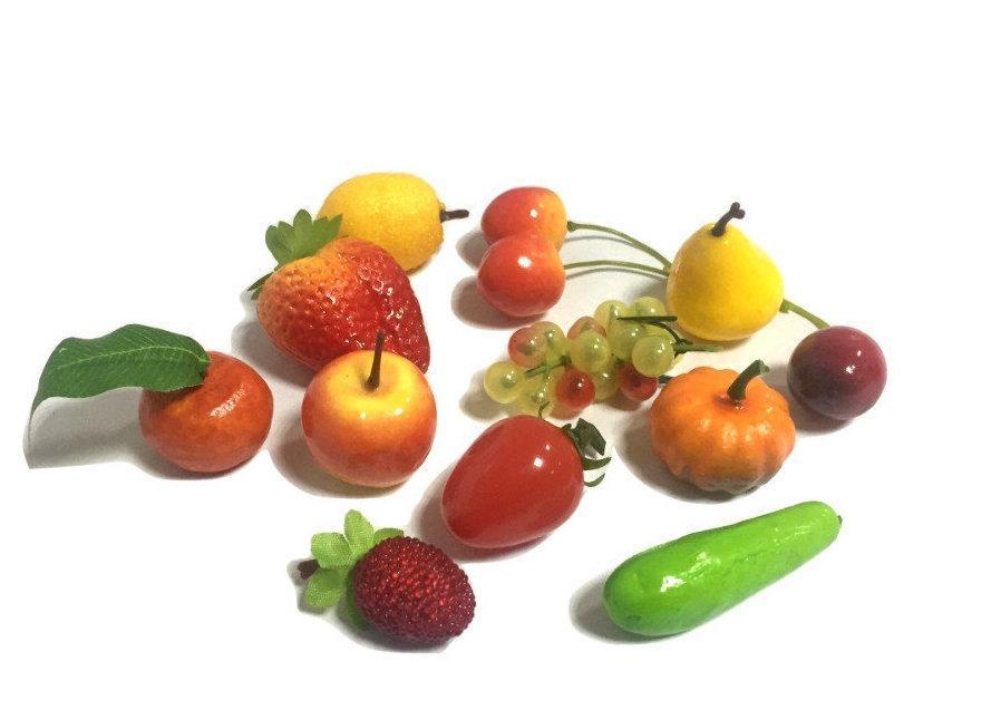 Муляжі «Овочі та фрукти» роздатковий