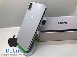 Телефон Apple iPhone XS MAX 256GB Silver  Neverlock  10/10