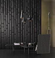 """Гипсовая 3d панель для стен """"Ремо"""" (декоративная стеновая 3д панель)"""