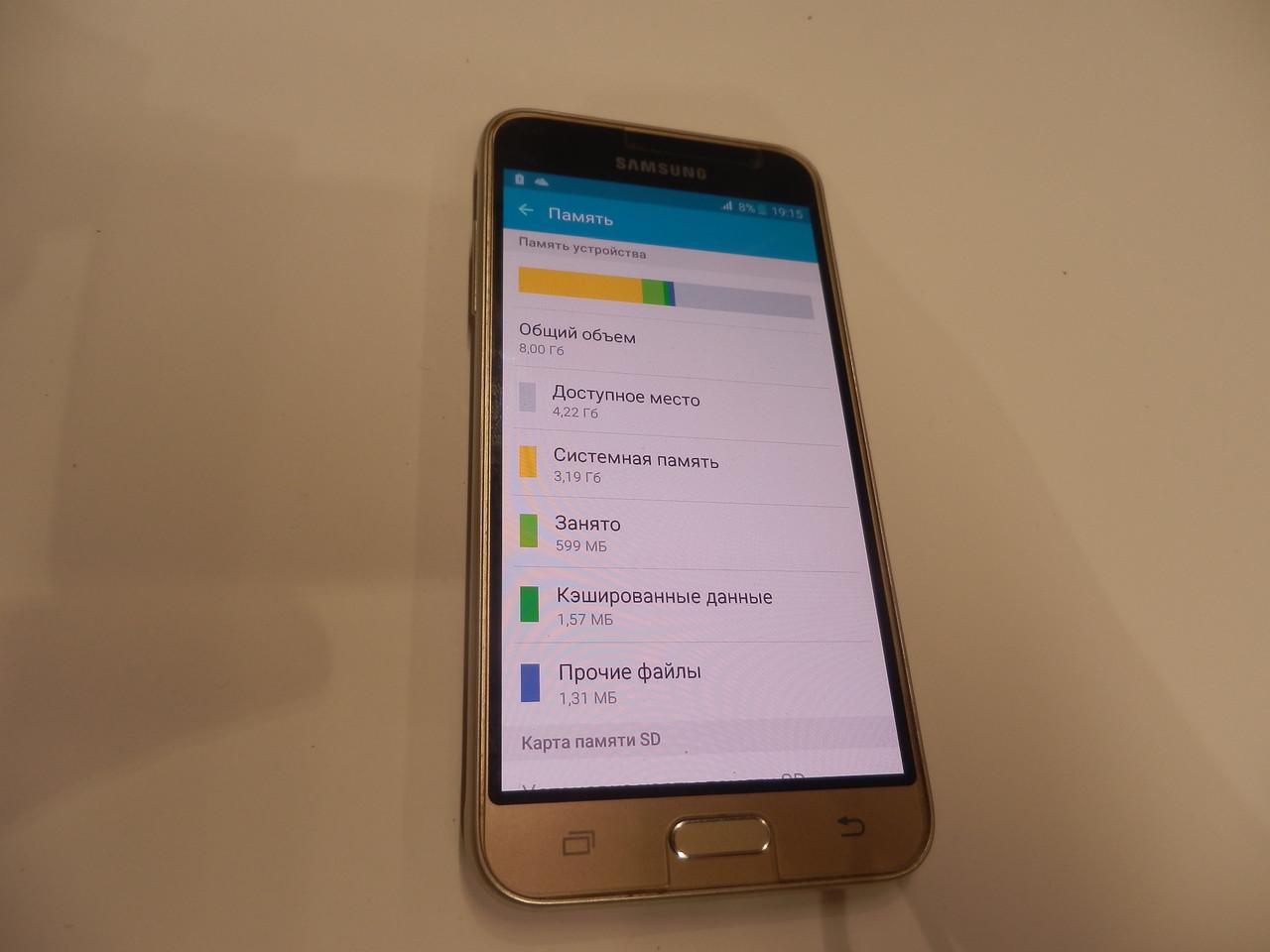Мобильный телефон Samsung J320H Galaxy J3 Duos (2016) 243ВР