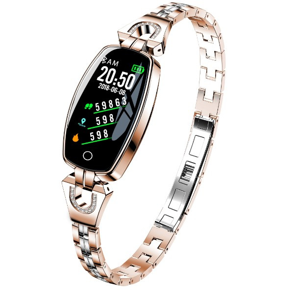 UWatch Женские наручные смарт-часы Smart SUPERMiss RoseGold 5060 2018 года