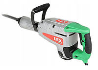 Отбойный молоток LEX LXR29 : 2900 Вт | Удар 650 Дж | Кейс + Зубило, долото в комлекте