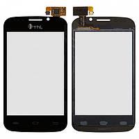 Touchscreen (сенсорный экран) для Thl A1, оригинал (черный)
