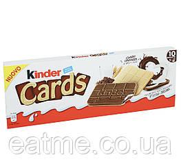 Kinder Cards Вафельные карточки с шоколадно-молочным кремом