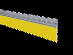 Алюминиевый плинтус скрытого монтажа с LED подсветкой под покраску