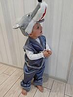 Детский карнавальный новогодний костюм Волка, фото 1