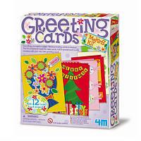 Набір для творчості 4M Вітальні листівки (00-04559)