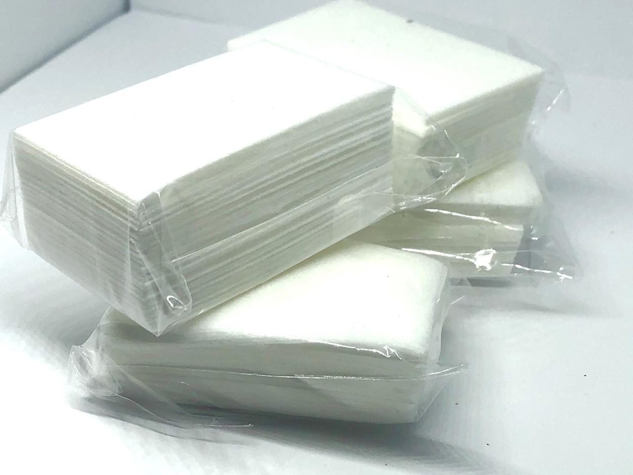 Безворсовые салфетки плотные, 50шт
