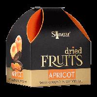 Конфеты Sonuar Сушеный абрикос с миндалем в шоколаде  150 гр