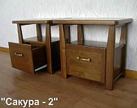Тумба прикроватная КРОВАТЬ Центр Сакура 2 ольха 54х35х50