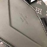 Рюкзак Луї Вітон канва Monogram, шкіряна репліка, фото 4