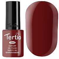 Гель-лак Tertio №047,10 мл, темная вишня