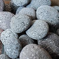 "Галька "" VULKAN Damavand "" KLVIV Иран / Черная фр.3-5см  (меш.20 кг)"