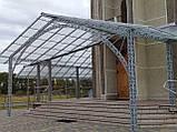 Профильный поликарбонат Suntuf колотый лед (1,06х5м) прозрачный 2УФ защиту, фото 6
