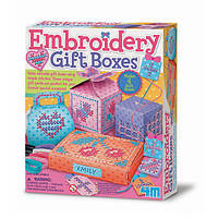 Набор для творчества 4M Вышитые коробочки (00-04666)