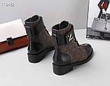 Жіночі черевики Луї Вітон натуральна шкіра 35-41 р, фото 2