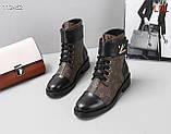 Жіночі черевики Луї Вітон натуральна шкіра 35-41 р, фото 4