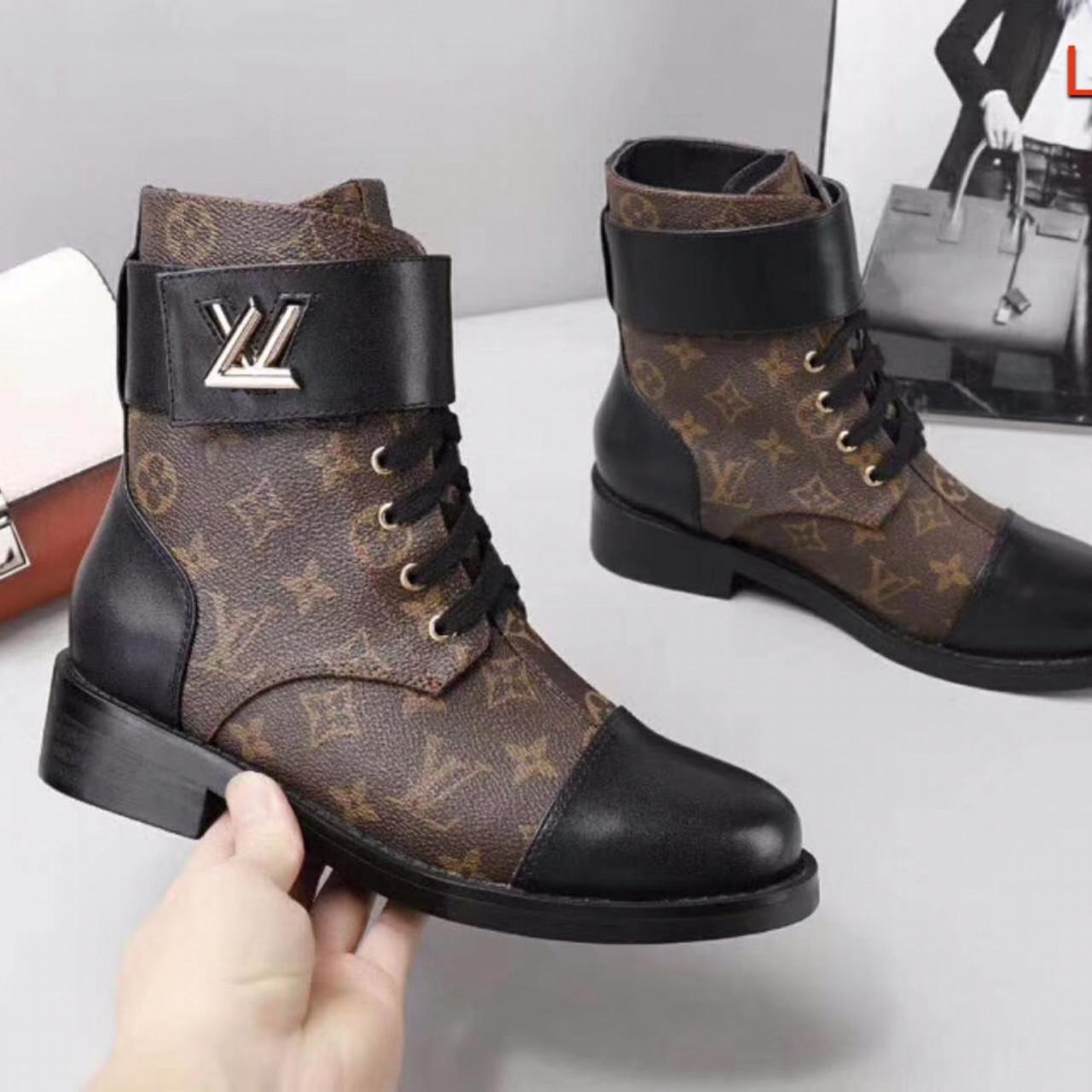 Жіночі черевики Луї Вітон натуральна шкіра 35-41 р