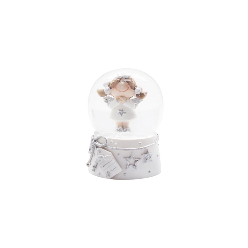 Шар снежный Девочка ангел 6.5 см 109228