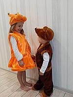 Детский карнавальный новогодний костюм Белочка, фото 1
