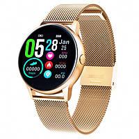Смарт-часы Smart Watch 30 gold steel
