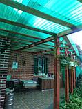 Профільний полікарбонат Suntuf (1,26х2м) зелений 55%, фото 7