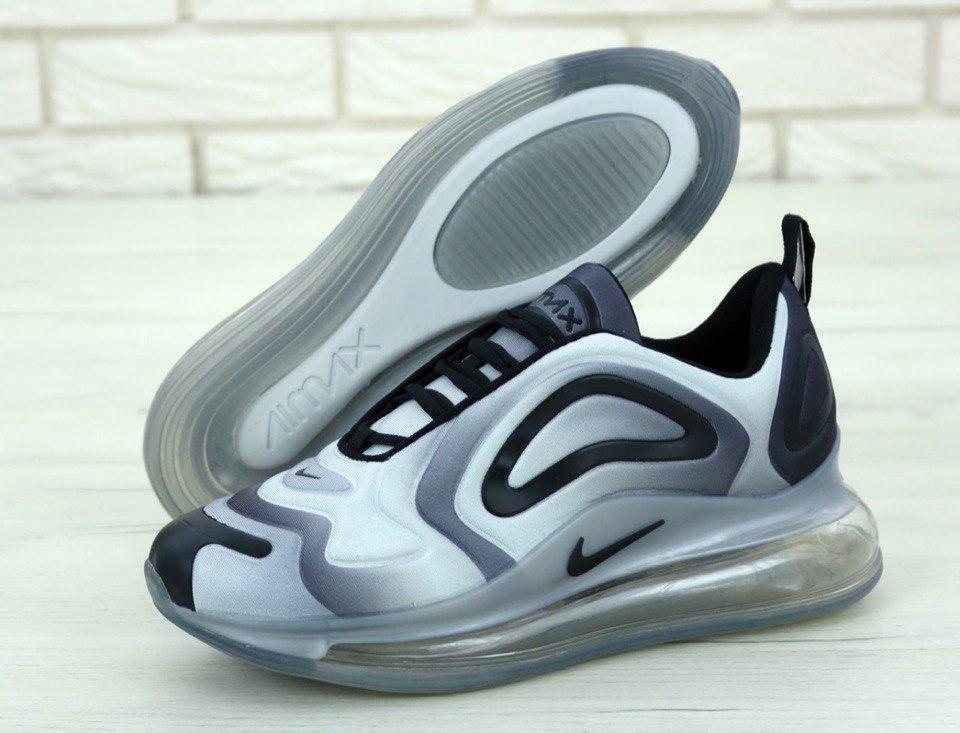 Кроссовки мужские Nike Air Max 720 31227 бело-серые