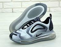 Кроссовки мужские Nike Air Max 720 31227 бело-серые, фото 1