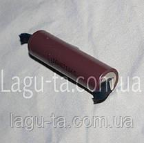 Аккумулятор Li-ion 18650 с выводами., фото 2