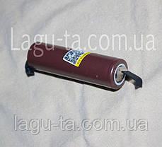Аккумулятор Li-ion 18650 с выводами., фото 3