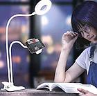 Держатель для телефона с подсветкой Professional Live Stream | Кольцо на прищепке для прямых трансляций, фото 7