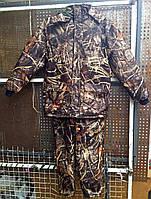 Костюм зимний охота/рыбалка. Влаго-ветрозащитный. Ткань АЛОВА на флисовом подкладе., фото 1