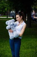 Плюшевый Мишка 50см.  Медведь игрушка Плюшевый медведь Мягкие мишки игрушки Ведмедик (Серый)