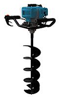 Мотобур KRAISSMANN 52 EB 300 + шнек 100 мм + шнек 150 мм + шнек 200 мм