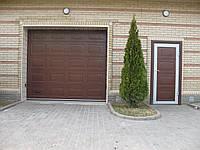 Ворота гаражные секционные DoorHan (текстура филёнка) 3000x2000