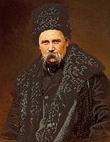 Набор для вышивки бисером POINT ART Иван Крамской Тарас Шевченко, размер 35х45 см, арт. 1525