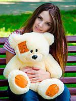 Плюшевый Мишка 50см. (Все Цвета)  Медведь игрушка Плюшевый медведь Мягкие мишки игрушки Ведмедик (Бежевый)