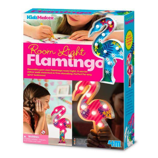 Набір для творчості 4M Підсвічування Фламінго (00-04743)