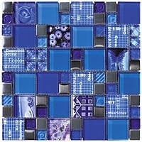 Мозаика Inter-Matex Carnaval blue 30x30