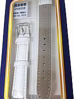 Ремешок  для часов JN 16мм белый, фото 3