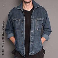 Куртка мужская  джинсовая стрейчевая  LVD