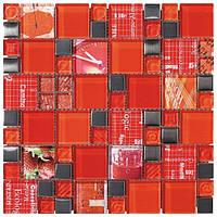 Мозаика Inter-Matex Carnaval red 30x30