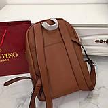 Рюкзак Валентино Garavani, шкіряна репліка, фото 7