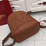 Рюкзак Валентино Garavani, шкіряна репліка, фото 2