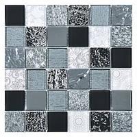 Мозаика Inter-Matex Elements black 30x30