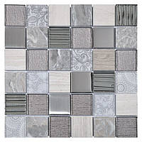 Мозаика Inter-Matex Elements grey 30x30