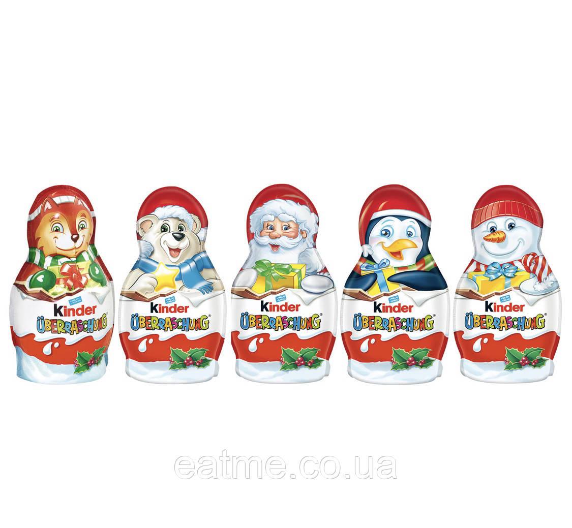 Kinder фигурки с сюрпризом внутри (цена за шт)