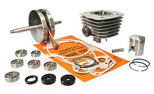 Ремонтний комплект двигуна чавунний циліндр для мотоцикла WSK 125
